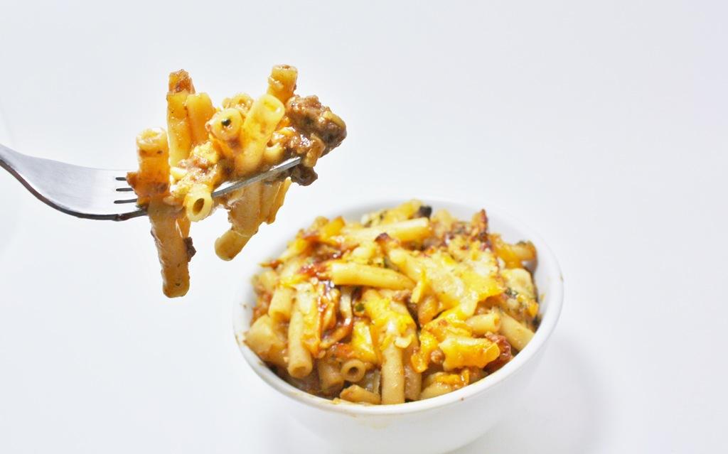 Cheesy BBQ Casserole & Weekend Potluck #61 | 4 little ...