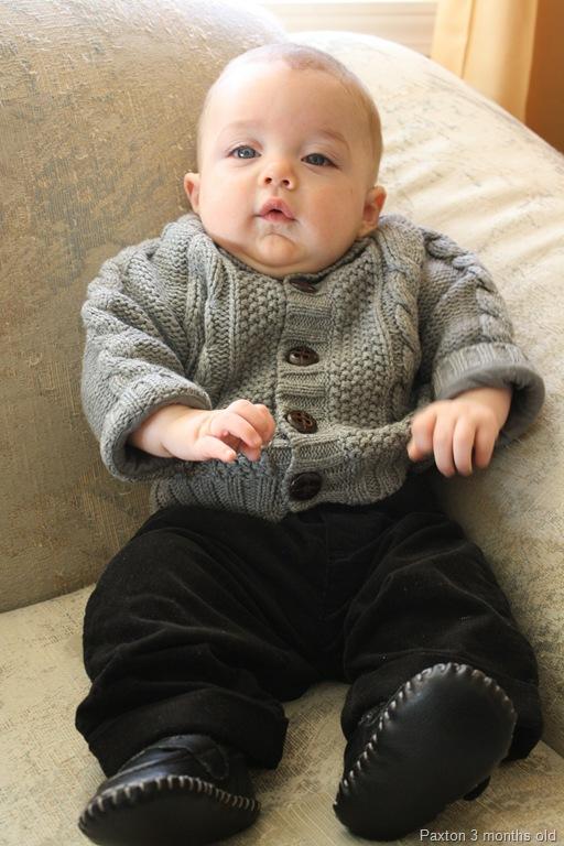 Baby Boy Sweater Vest