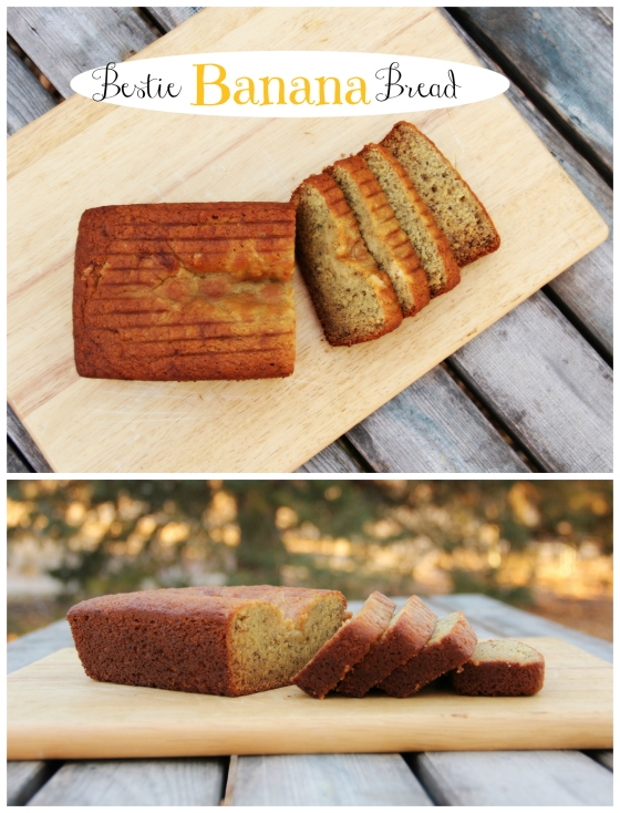 Bestie Banana Bread Collage
