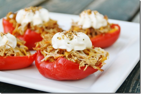 Weekend Potluck #29 & Southwest Cream Cheese Stuffed Red Peppers (2/6)