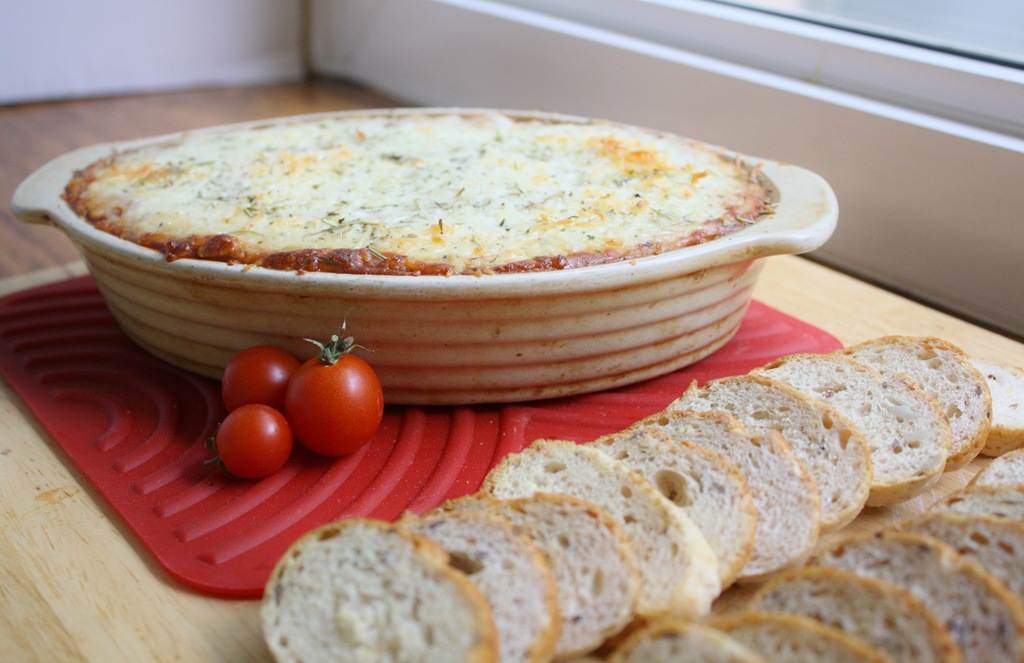 Hot Pizza Dip | 4 little Fergusons