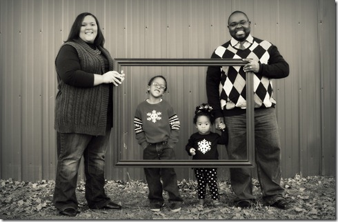 Gage Family Photo Session 008b&w