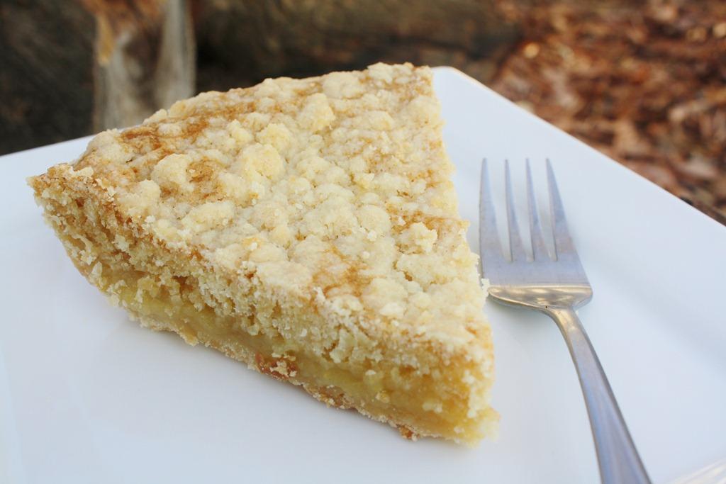 Vanilla Crumb Pie | 4 little Fergusons