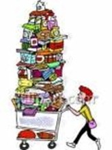 woman_with_overflowing_shopping_cart_royalty_free_clipart_picture_081106-001289-647048