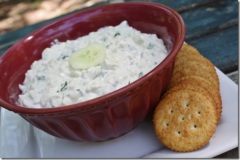 Cucumber Cracker Spread