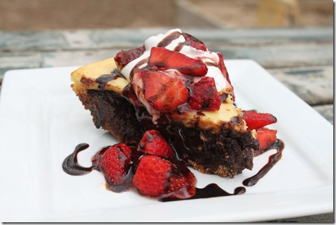 Banana Split Brownie Pie (2)
