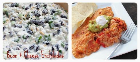 Bean & Cheese Enchiladas