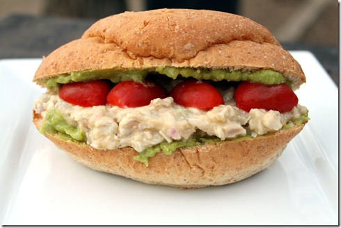 Chicken suiza salad sandwiches (2)