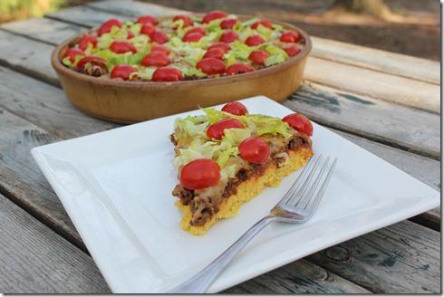 Taco Cornbread Pizza (1)