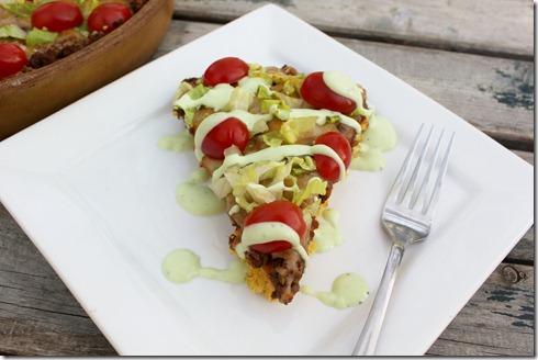 Taco Cornbread Pizza (3)