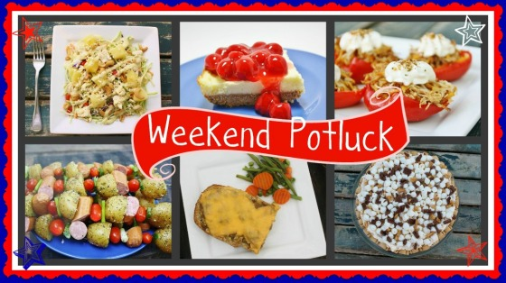 Weekend potluck (Red, white & blue)