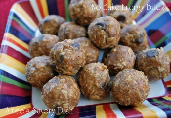 No Bake Energy Bites (no refined sugar!)