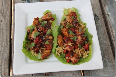 Teriyaki Chicken Lettuce Wraps (2)