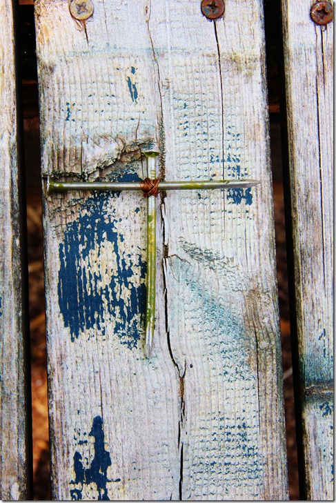 4) Nail cross