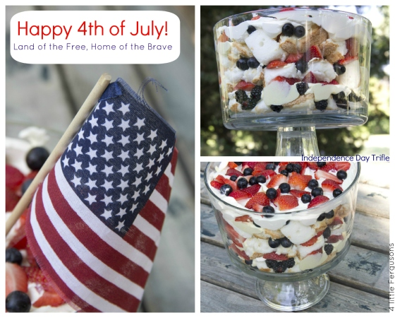 Easy Independence Day Trifle 4 Little Fergusons