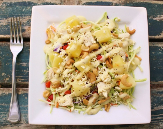 Crunchy Poppyseed Chicken Salad