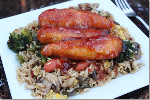 Sweet and sour chicken (2)