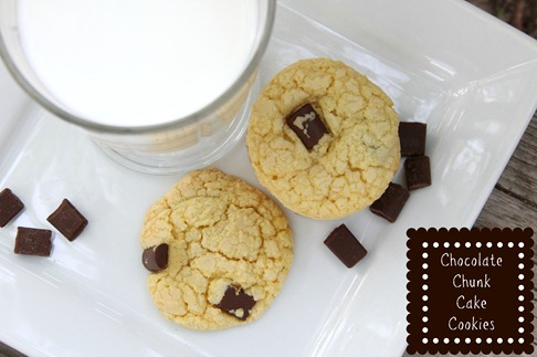 Chocolate Chunk Cookies text