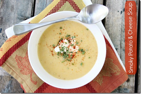 Smoky Potato Soup text