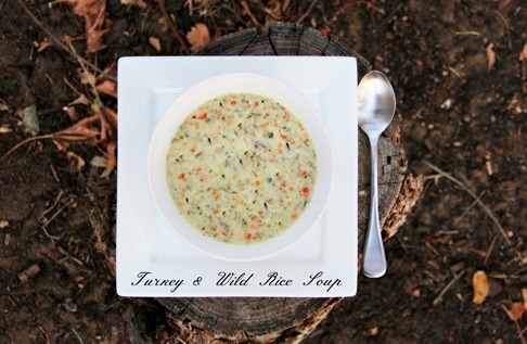 Turkey and Wild Rice soup with txt