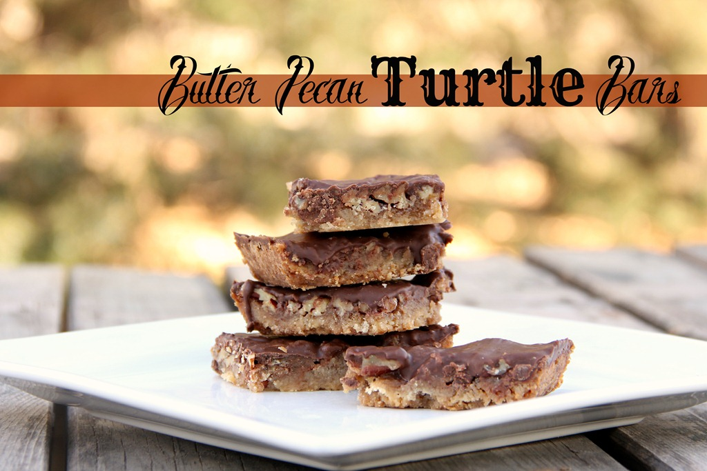 pecan turtle bars land of lakes by way of grace caramel pecan turtle ...