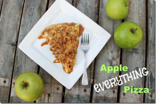 apple everything pizza text