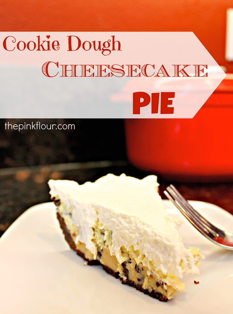 Almost No Bake Cookie Dough Cheesecake
