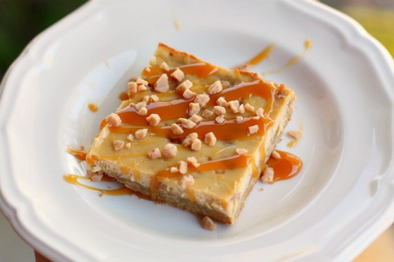 Brown Sugar Toffee Cheesecake Bars
