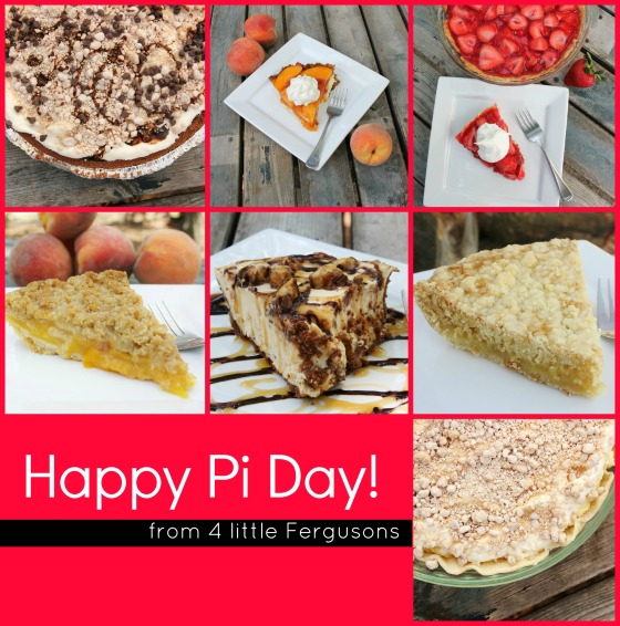 Pi Day Collage