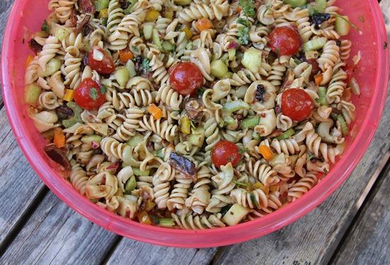 Bacon Tortellini Pasta Salad (2)