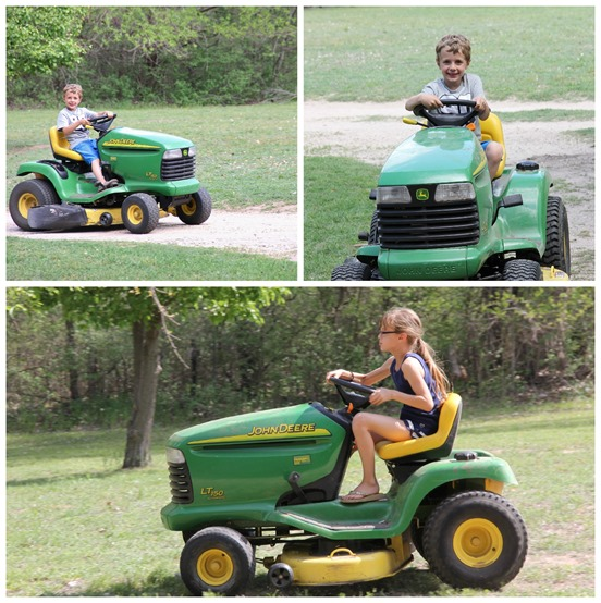 learning to mow