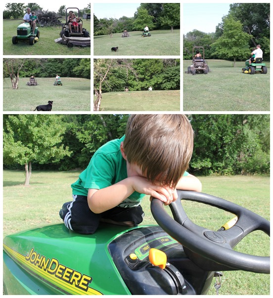mower races