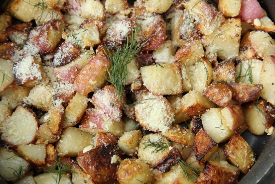 Parmesan Dill New Potatoes (2)