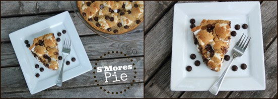 smores collage