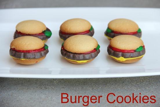 Burger Cookies