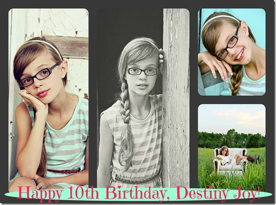 Happy Birthday Destiny