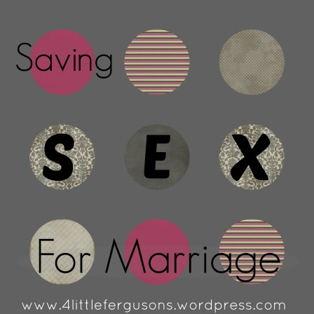 saving sex for marriage