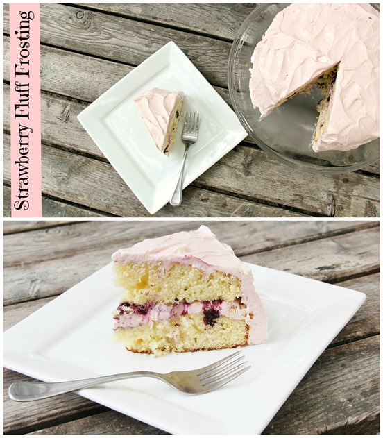 Strawberry Frosting Collage