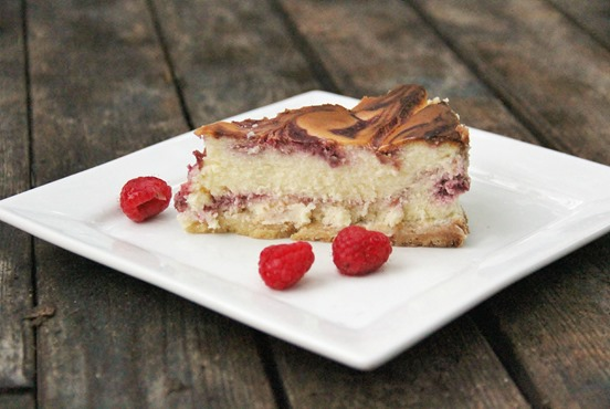 White Chocolate Raspberry Cheesecake (2)