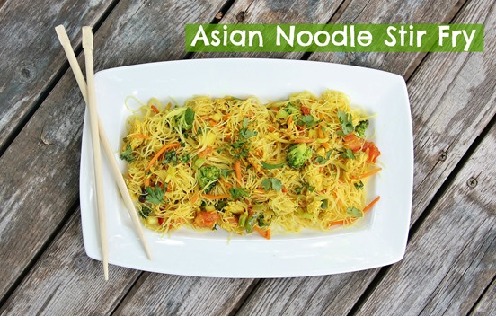 Asian Noodle stir fry