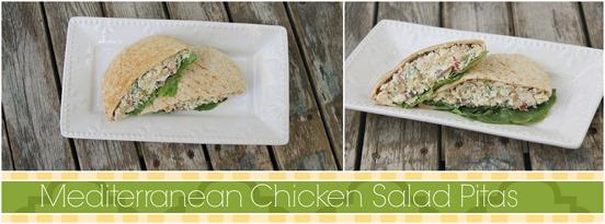 Mediterranean Chicken pita