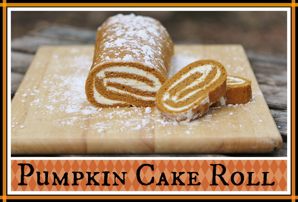 Pumpkin Cake Roll | 4 little Fergusons
