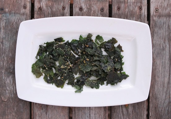 buttered kale chips (2)