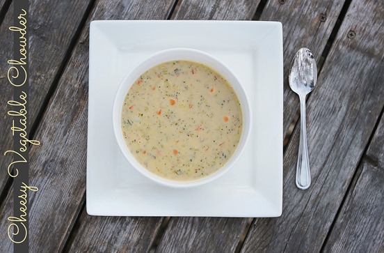 Cheesy Vegetable Chowder 2