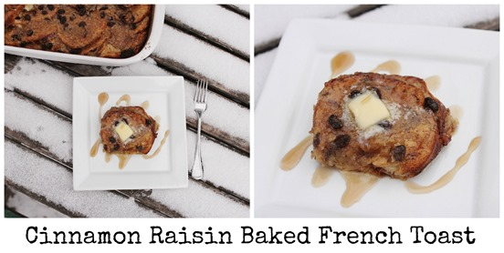 cinnamon raisin baked french toast