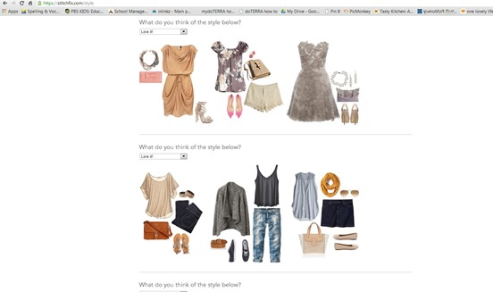 stitch fix screen shot