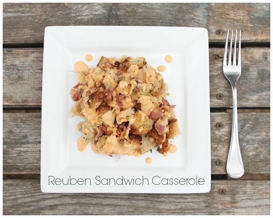 reuben sandwich casserole