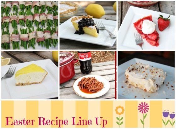 easter recipe line up