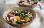 Fruity side salad