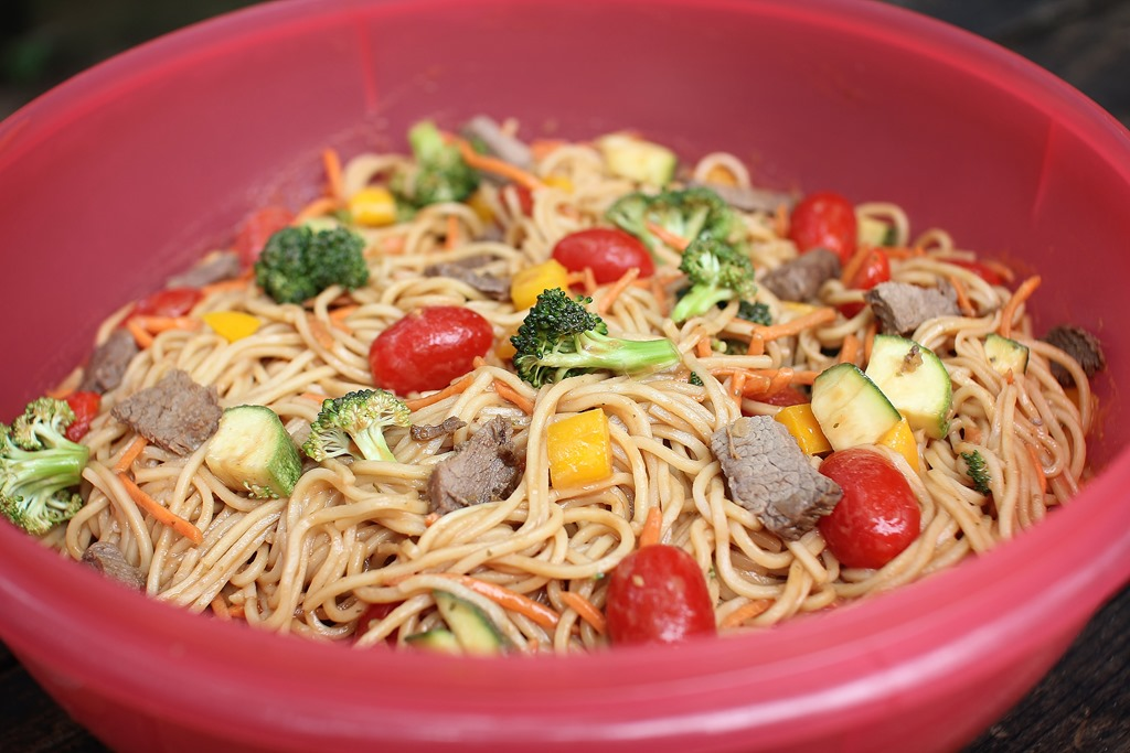 Cooking With Wildtree: Shanghai Noodle Salad | 4 little Fergusons